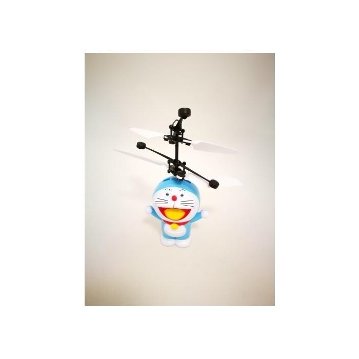 Радиоуправляемый вертолет кот-робот Robocar Poli Дораэмон