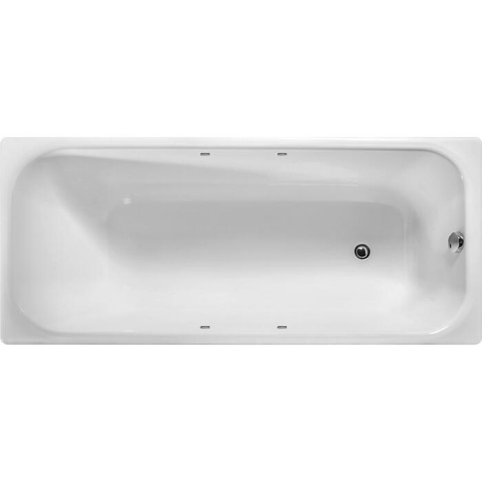 Чугунная ванна Wotte Start 170х75 c отверстиями для ручек, без ножек (2000186293324)