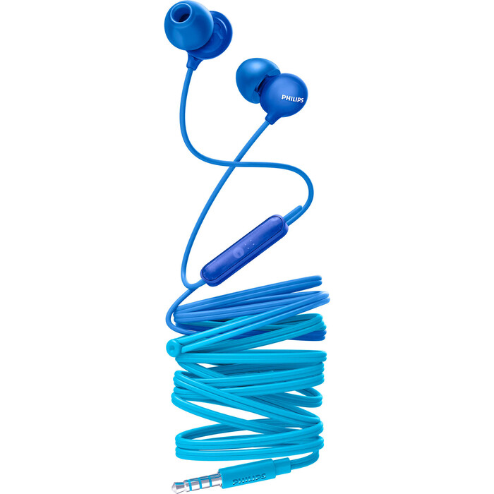 Наушники Philips SHE2405BL blue