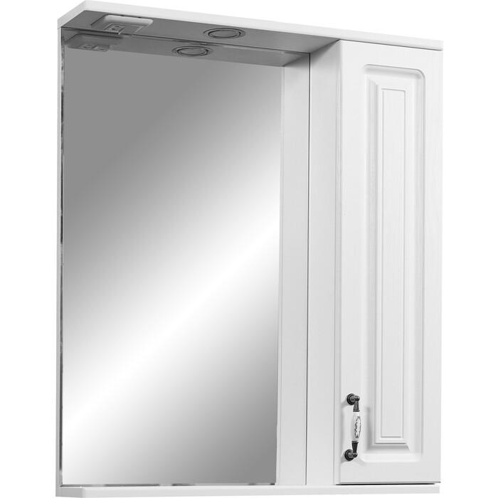Зеркало-шкаф Stella Polar Кармела 65/С ольха белая (SP-00000184)