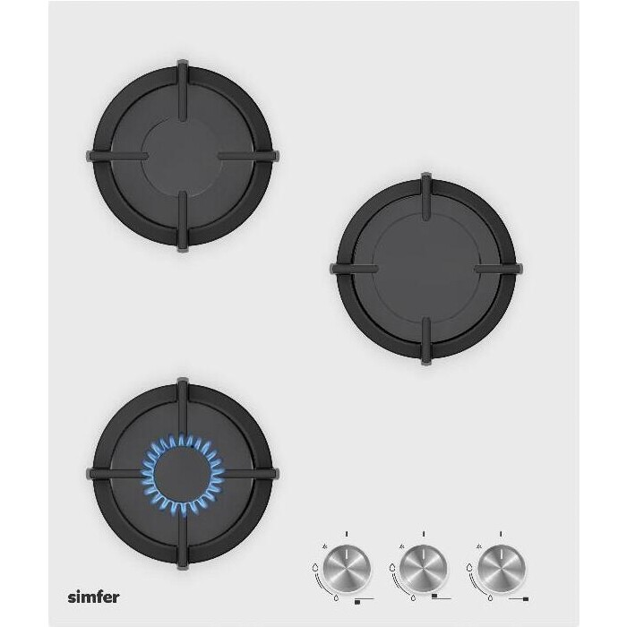 Газовая варочная панель Simfer H45N30W416