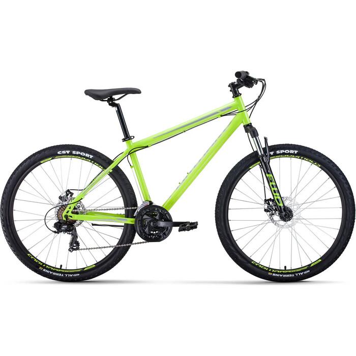 Велосипед Forward SPORTING 27,5 2.0 disc (27,5 21 ск. рост 19) 2019-2020, светло-зеленый/серый, RBKW0MN7Q028