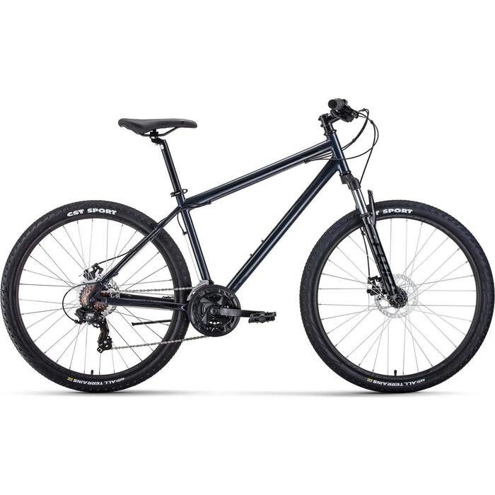 Велосипед Forward SPORTING 27,5 2.0 disc (27,5 21 ск. рост 19) 2019-2020, черный/белый, RBKW0MN7Q026