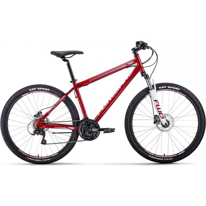цена на Велосипед Forward Sporting 3.0 Disc 27.5 (2020) 19 темно-красный/серый