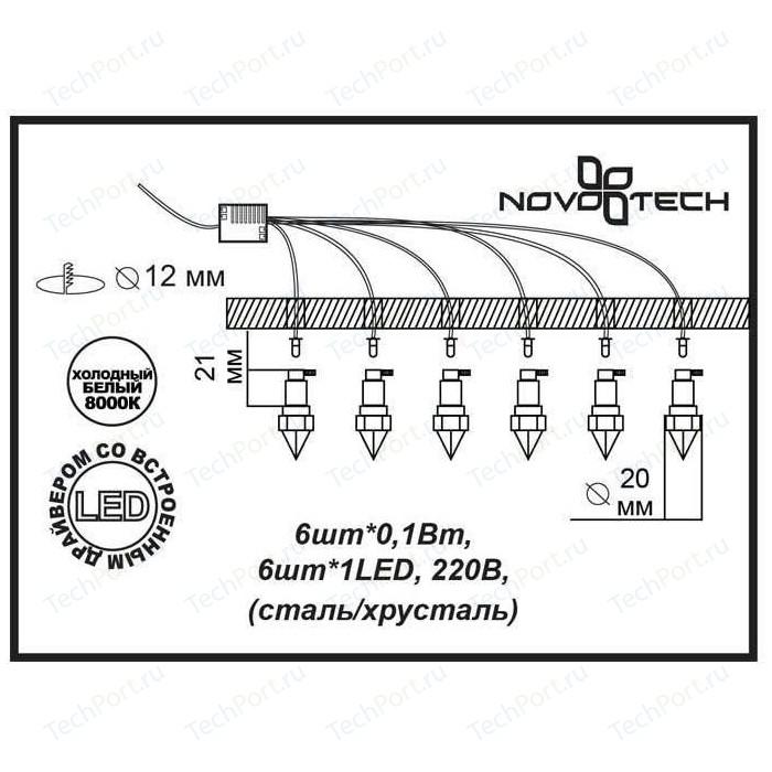 Потолочный светильник Novotech 357021