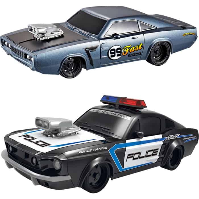 Набор из двух радиоуправляемых машин Yuan Di Police Chase 1:20 - YD898-MJ1995A