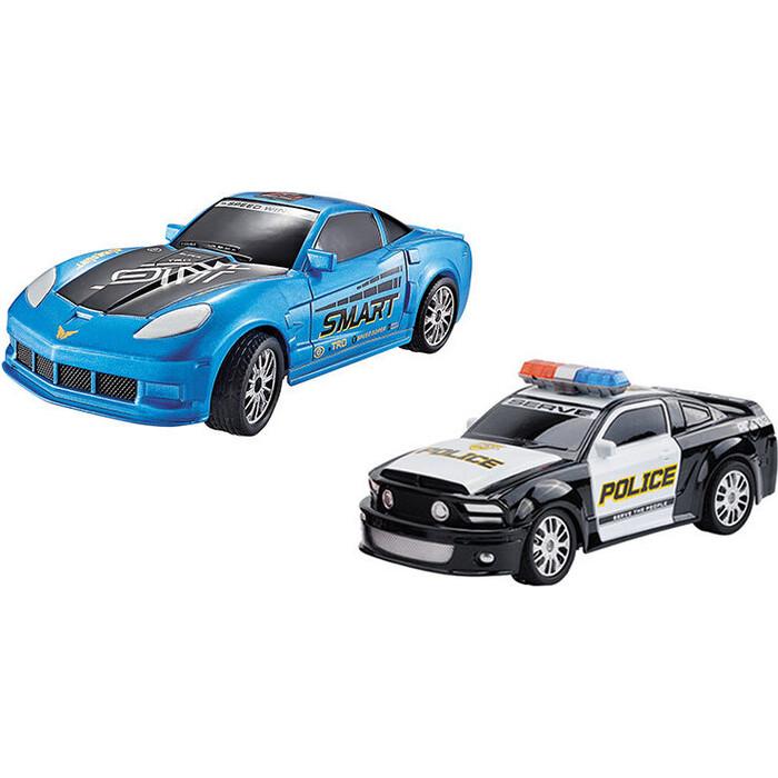 Набор из двух радиоуправляемых машин Yuan Di Police Chase 1:20 - YD898-MJ1996B