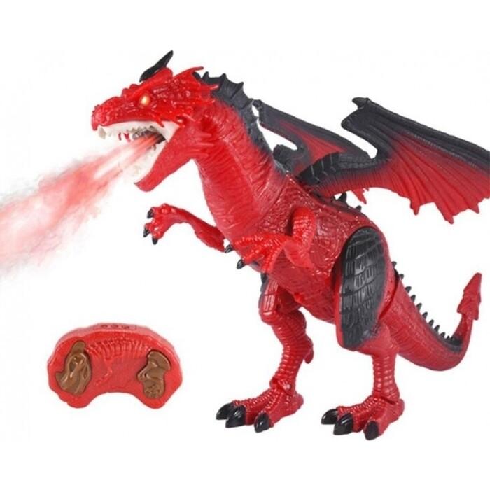 CS Toys Радиоуправляемый красный дракон (дышит паром) - RS6159A