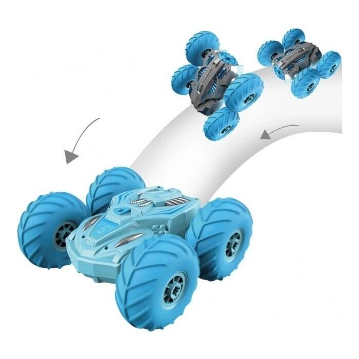 Радиоуправляемая машина Crazon перевертыш амфибия (надувные колеса, насос) - 19SL02B