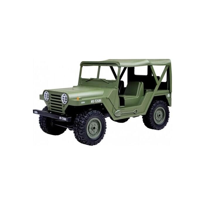 Радиоуправляемая машина SUBOTECH Jeep 1:14 US M151 4WD 2.4G - BG1522