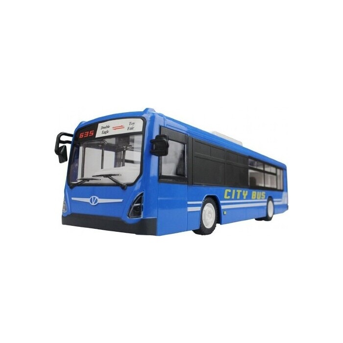 Радиоуправляемая машина Double Eagle Автобус 1:20 2.4G - E635-003-Blue