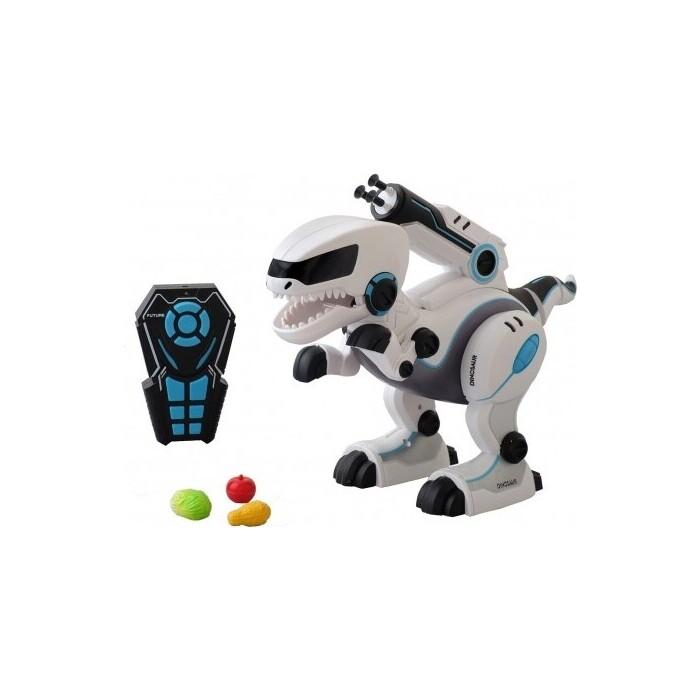 Le Neng Toys Радиоуправляемый интерактивный динозавр (стреляет присосками) - A005S