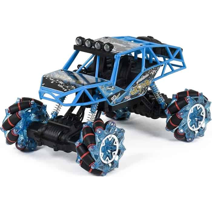 Zegan Радиоуправляемый краулер на роликовых колесах, свет, звук 2.4G - ZG-C1431-Blue