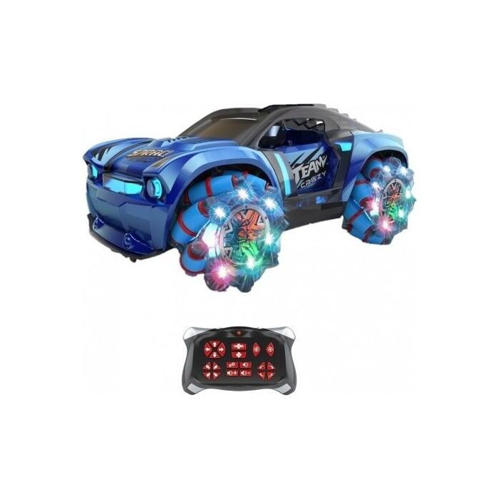 Радиоуправляемая машина Zegan Crazy Drift 1:16, синий - ZG-C1432-Blue
