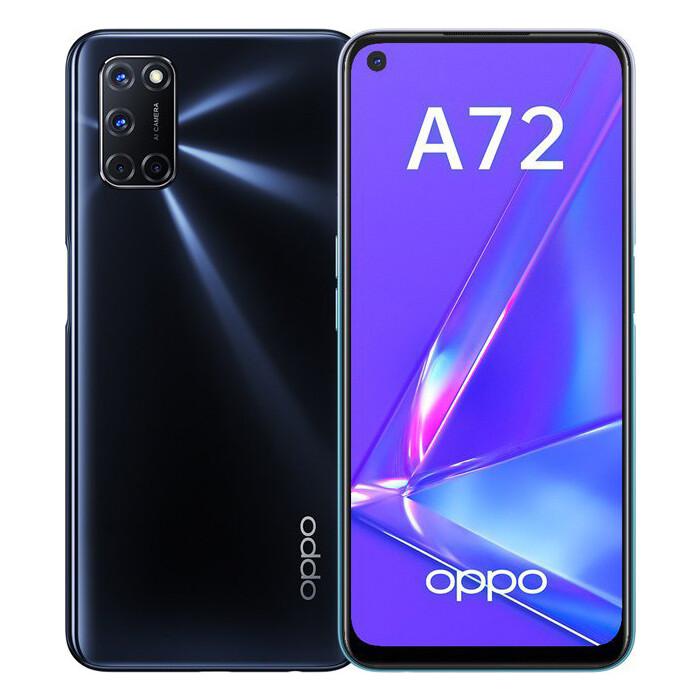 Смартфон OPPO A72 4Gb/128Gb (CPH2067) Черный