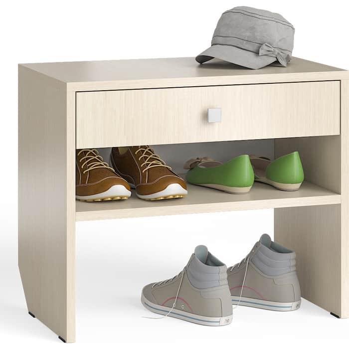 Тумба для обуви Мебельный двор С-МД-ТО-08 дуб с выдвижным ящиком кровать с выдвижным ящиком paremo кровать с выдвижным ящиком