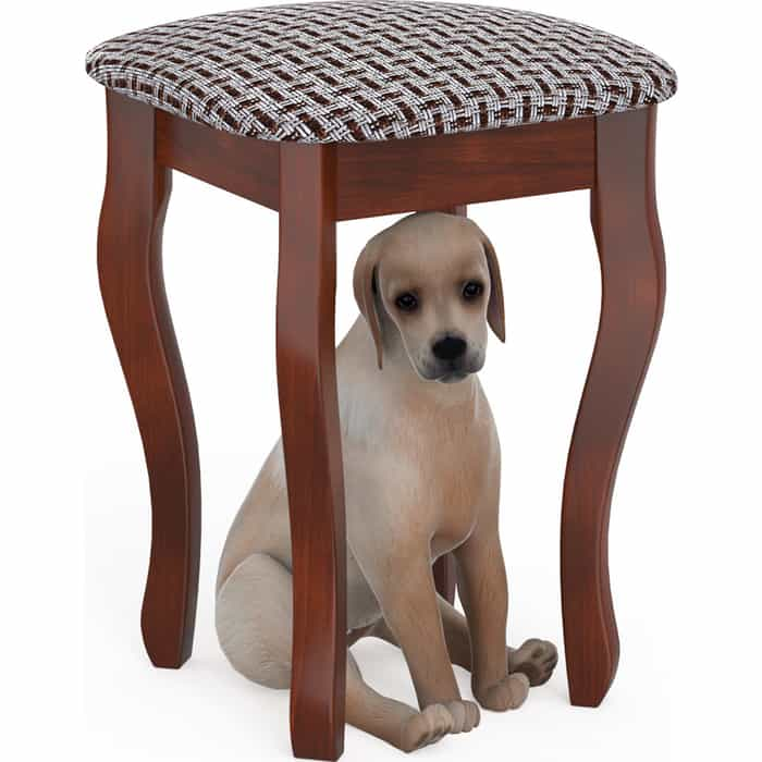Фото - Табурет Мебель-24 Мерлин-3 вишня, обивка ткань рогожка корфу (продается разобранным) стул мебель 24 гольф 11 орех обивка ткань атина коричневая