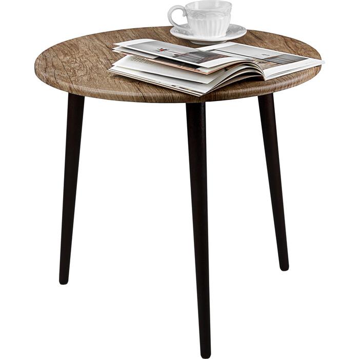 Стол журнальный Мебелик BeautyStyle 13 палисандр натуральный/венге
