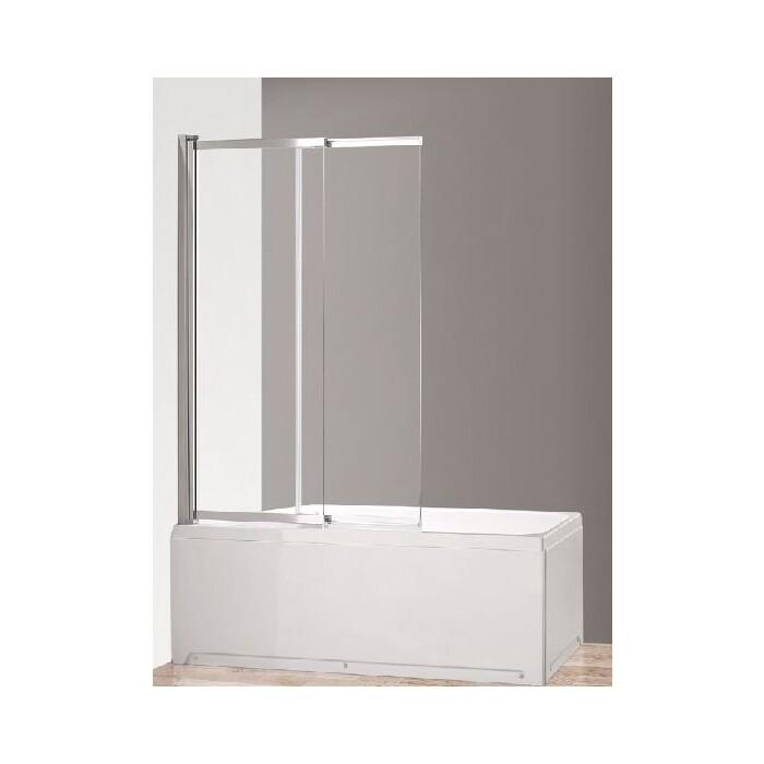 Шторка для ванной Cezares Eco 100 прозачная (ECO-O-VF-11-100/145-C-Cr)