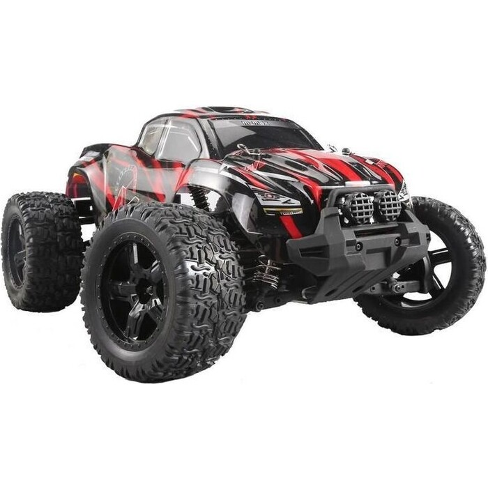 Радиоуправляемый монстр Remo Hobby MMAX (красный) 4WD 2.4G 1/10 RTR цена 2017