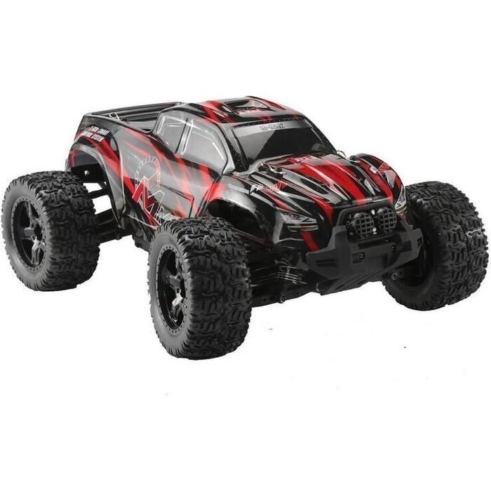 Радиоуправляемый монстр Remo Hobby MMAX Brushless (красный) 4WD 2.4G 1/10 RTR