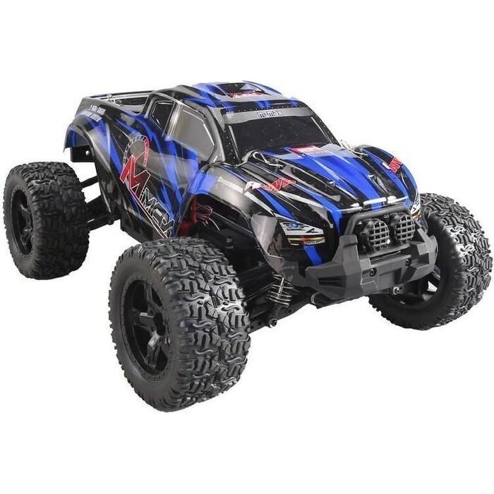 Радиоуправляемый монстр Remo Hobby MMAX Brushless (синий) 4WD 2.4G 1/10 RTR