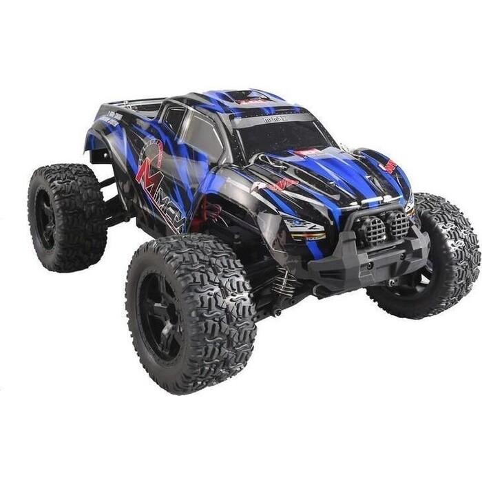 Радиоуправляемый монстр Remo Hobby MMAX PRO (синий) Li-Po 4WD 2.4G 1/10 RTR