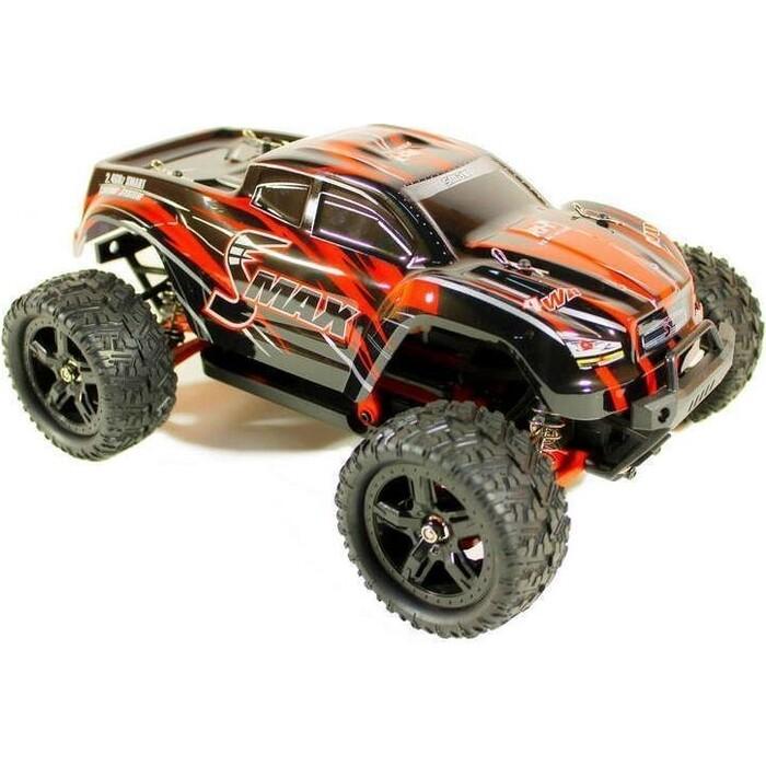 Радиоуправляемый монстр Remo Hobby SMAX UPGRADE (красный) 4WD 2.4G 1/16 RTR