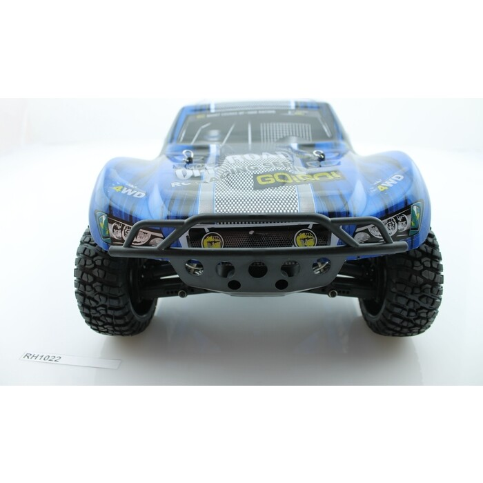 Радиоуправляемый шорт-корс Remo Hobby 9EMU Brushless (синий) 4WD 2.4G 1/8 RTR радиоуправляемый шорт корс трак remo hobby truck 9emu 4wd rtr масштаб 1 8 2 4g 1021