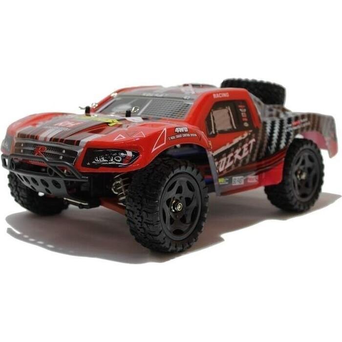 Радиоуправляемый шорт-корс Remo Hobby Rocket (красный) 4WD 2.4G 1/16 RTR радиоуправляемый шорт корс трак remo hobby truck 9emu 4wd rtr масштаб 1 8 2 4g 1021
