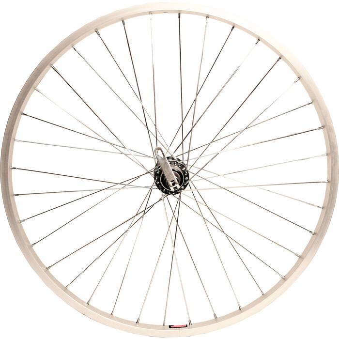 Велоколесо Stark переднее MTB 24, двойной обод DH18, чер. втулка FH206D-1,100 мм с эксц., под диск 36 спиц