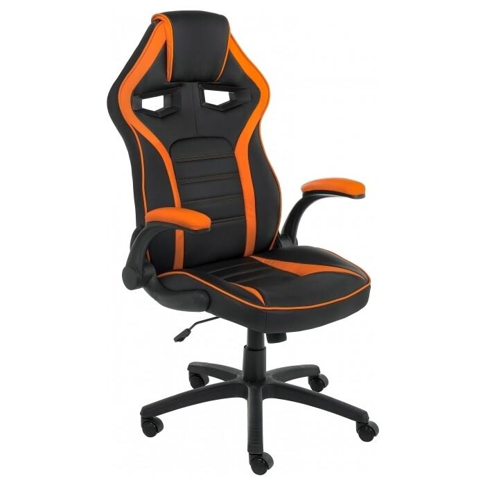 Кресло Woodville Monza 1 оранжевое/черное monza 1 красное черное стул