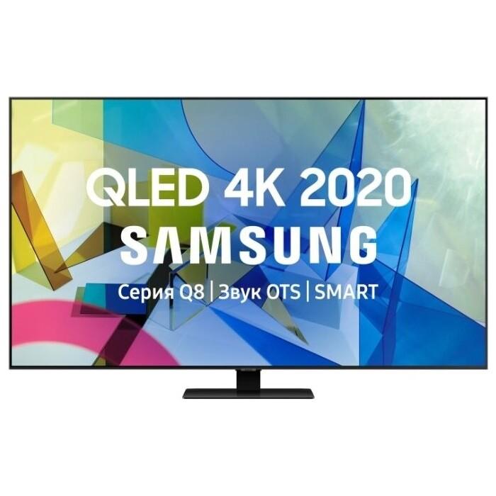Фото - QLED Телевизор Samsung QE55Q80TAU qled телевизор samsung qe50q80tauxru
