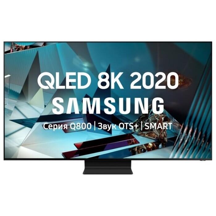 Фото - QLED Телевизор Samsung QE75Q800TAU qled телевизор samsung qe43q60aauxru