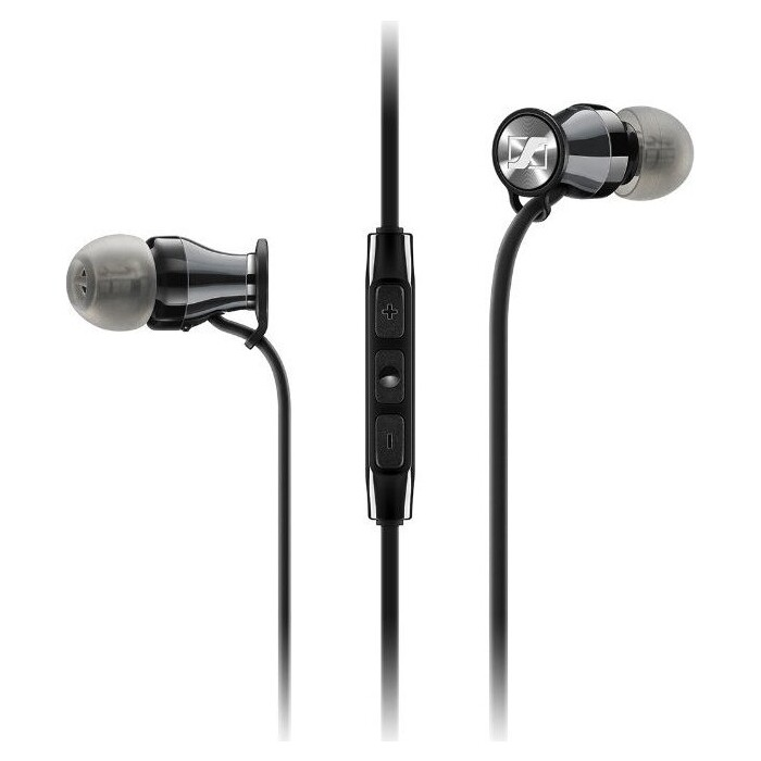 Наушники Sennheiser Momentum 2.0 In-Ear (M2 IEG) black/chrome для Android