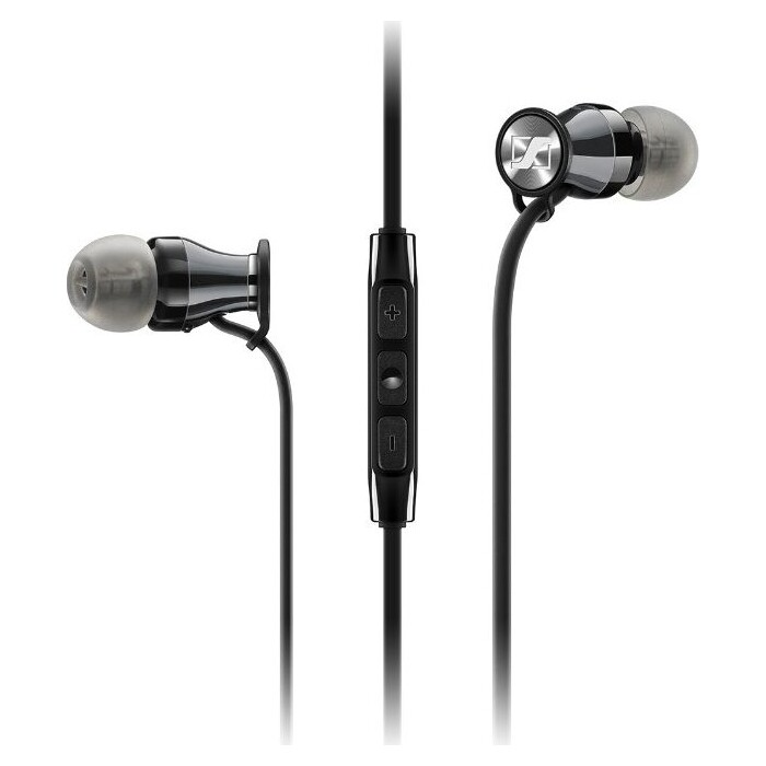 Наушники Sennheiser Momentum 2.0 In-Ear (M2 IEi) black/Chrome для iOS