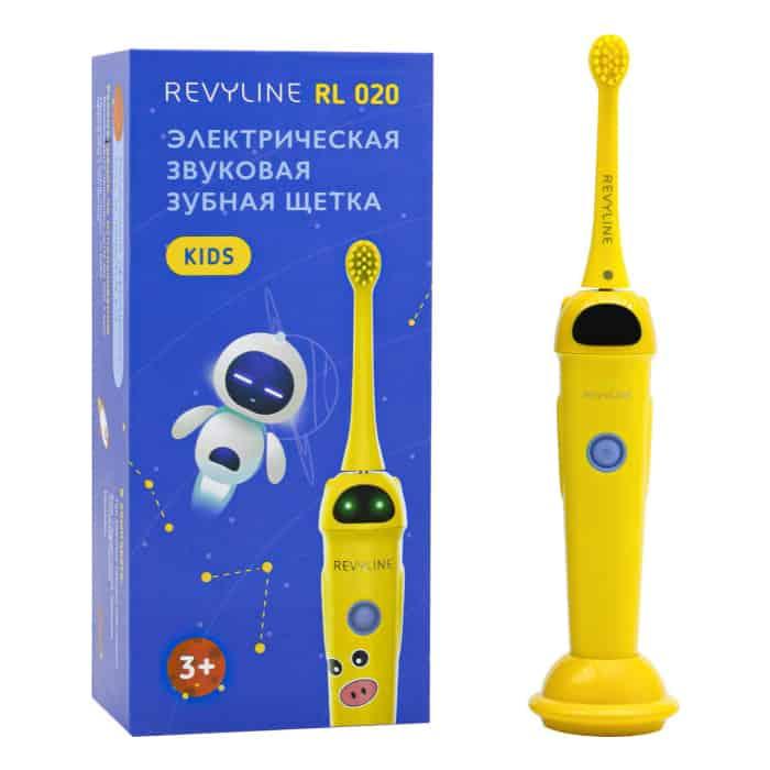 Электрическая зубная щетка Revyline RL 020 желтая