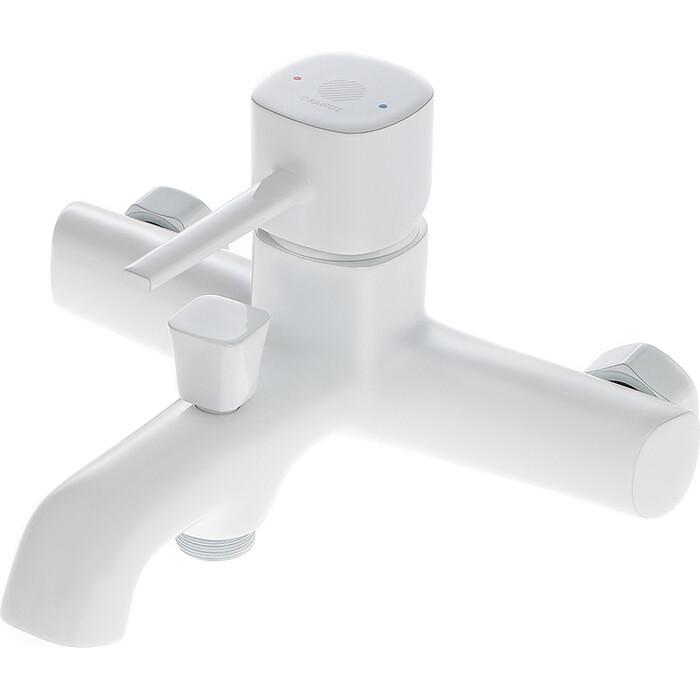 Смеситель для ванны Orange Karl белый (M05-100W)