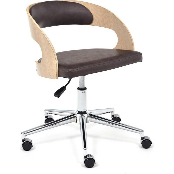 Кресло TetChair Jazz палисандр кож/зам коричневый 4230