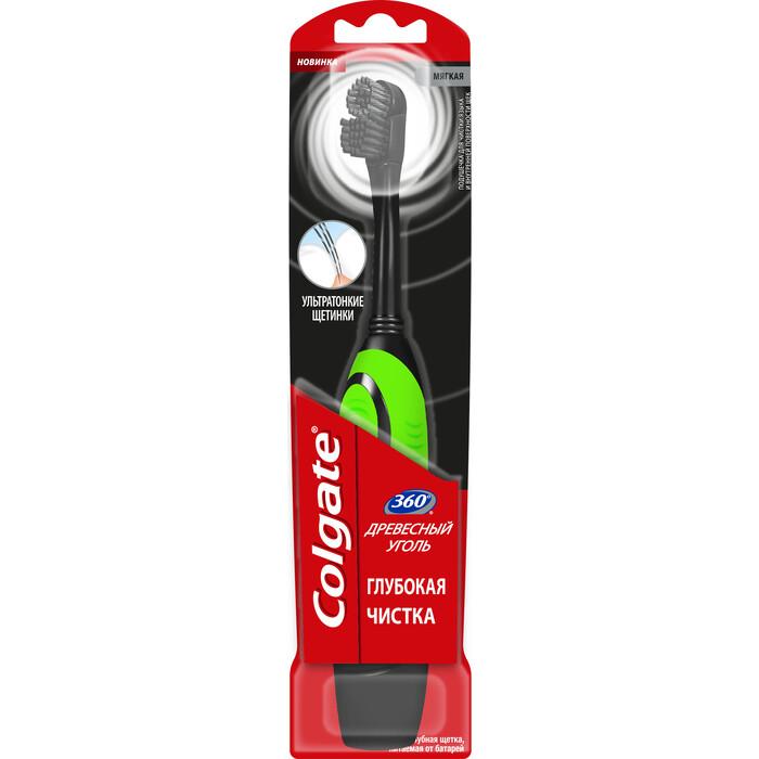 Электрическая зубная щетка Colgate CN07553A зеленая