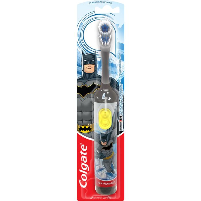 Электрическая зубная щетка Colgate CN07552A Batman серая
