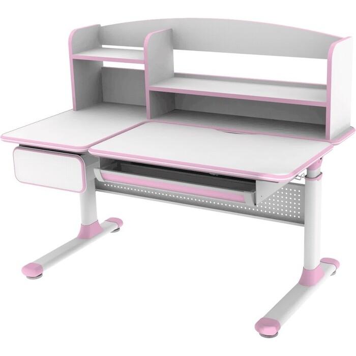 Парта FunDesk Rimu pink cubby