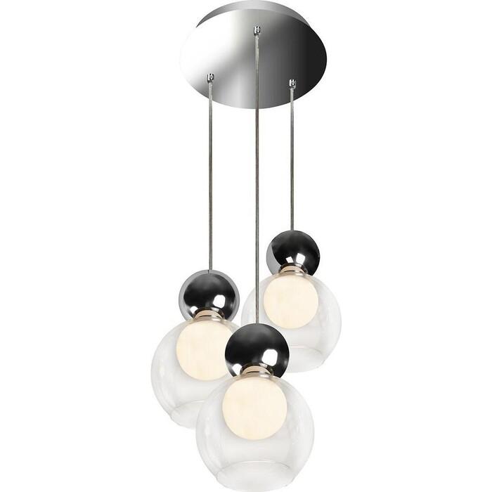 Люстра iLedex Подвесная светодиодная Blossom C4476-3R CR