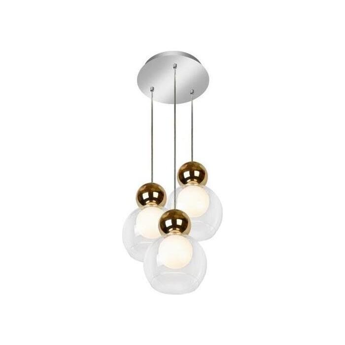 Люстра iLedex Подвесная светодиодная Blossom C4476-3R GL
