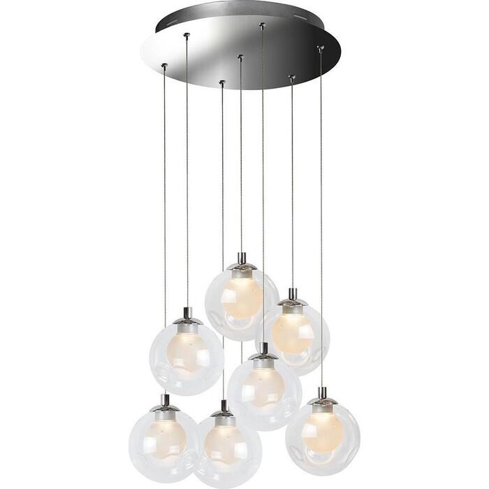 Люстра iLedex Подвесная светодиодная Epical C4492-7R CR