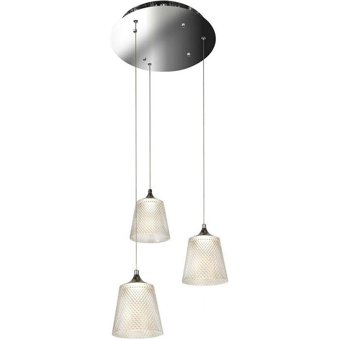Люстра iLedex Подвесная светодиодная Flora WD8007-3 CR