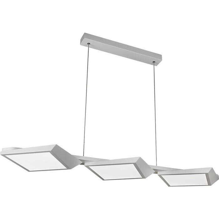 Люстра iLedex Подвесная светодиодная Meridian W49017-3 WH