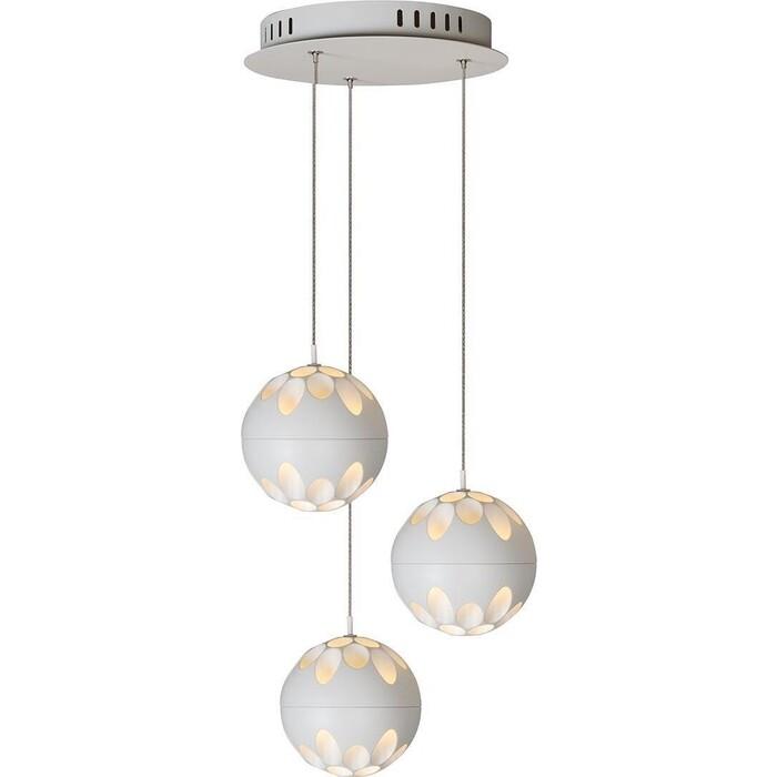 Люстра iLedex Подвесная светодиодная Mob P1009-3 WH