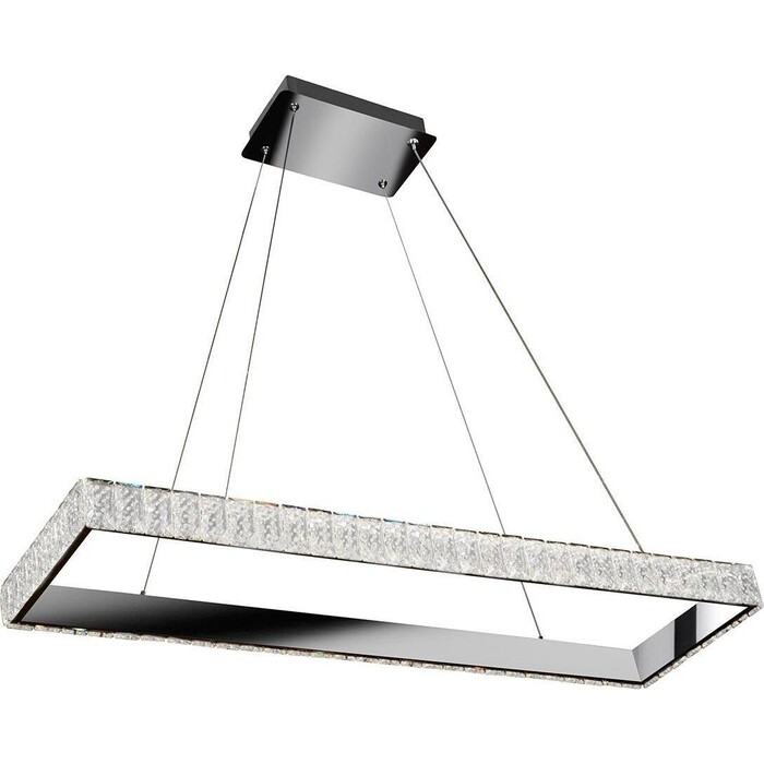Светильник iLedex Подвесной светодиодный Crystal ice MD7212-40B CR