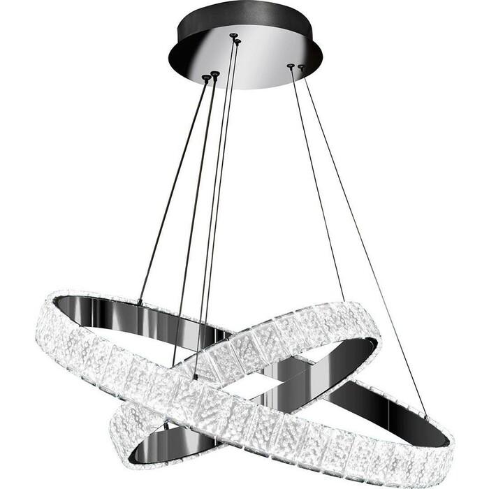 Светильник iLedex Подвесной светодиодный Crystal ice MD7212-60A CR